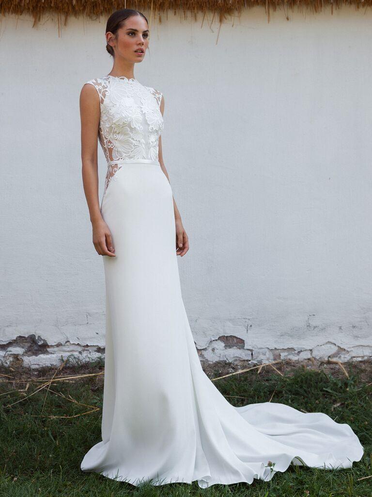 Vintage Sheath Wedding Dresses
