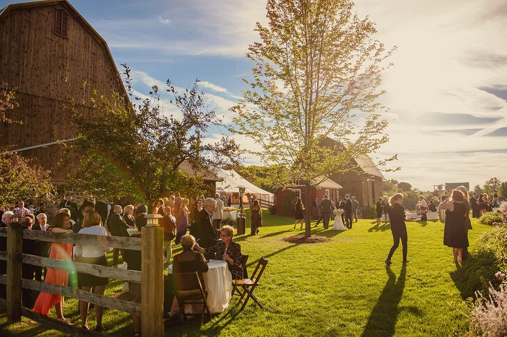 Outdoor Reception at Misty Farm in Ann Arbor