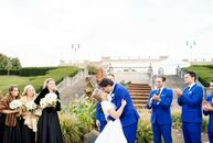 Madeleine Tepe and Rob Misleh's outdoor affair incorporated plenty of classic, vintage-inspired details. The bride stunned in an ankle-length gown wit