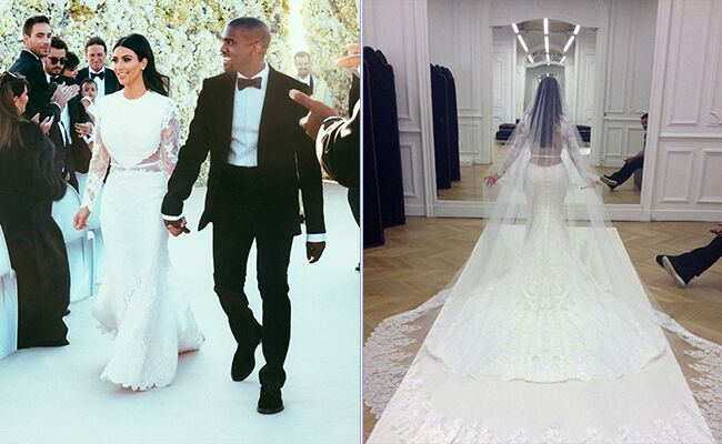 See Kim Kardashian S Givenchy Wedding Dress And Get The Look