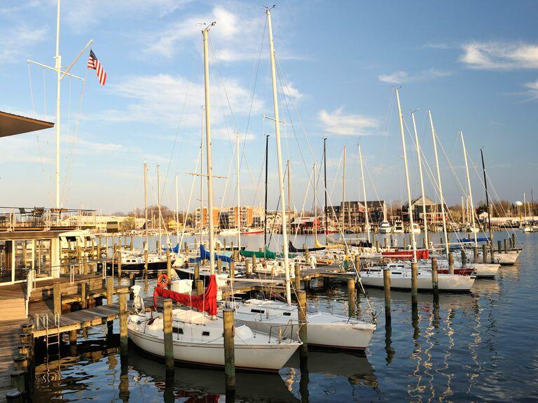 Annapolis Maryland bay
