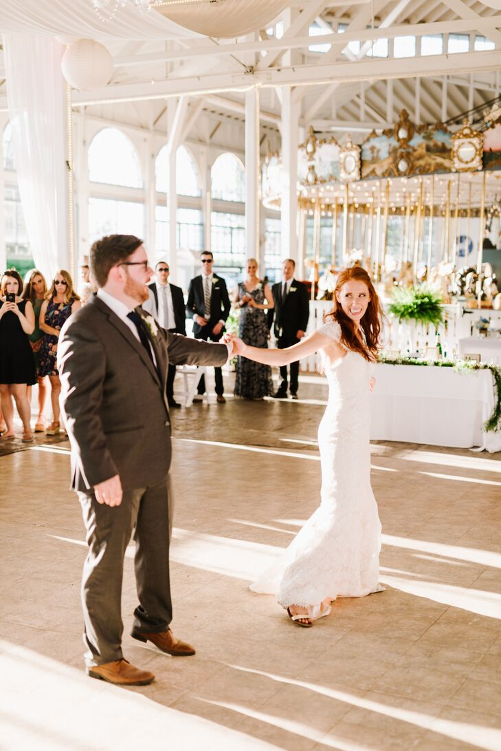 Lighthouse Point Park Carousel First Dance