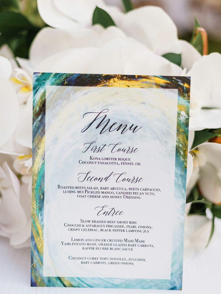 Hawaii Wedding Details: Tone It Up\'s Karena Dawn\'s Wedding