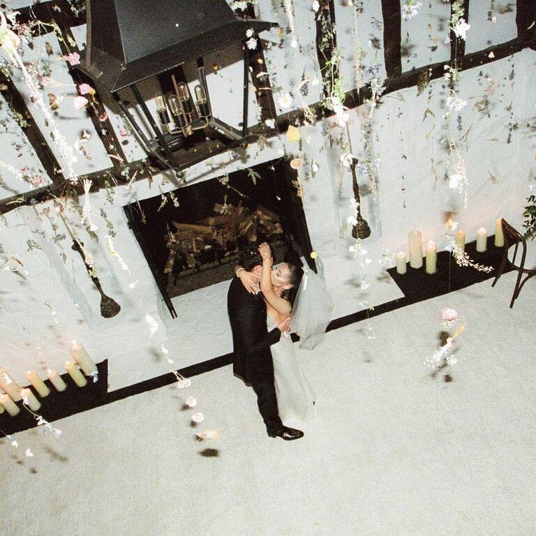 ariana grande dalton gomez wedding photos decor