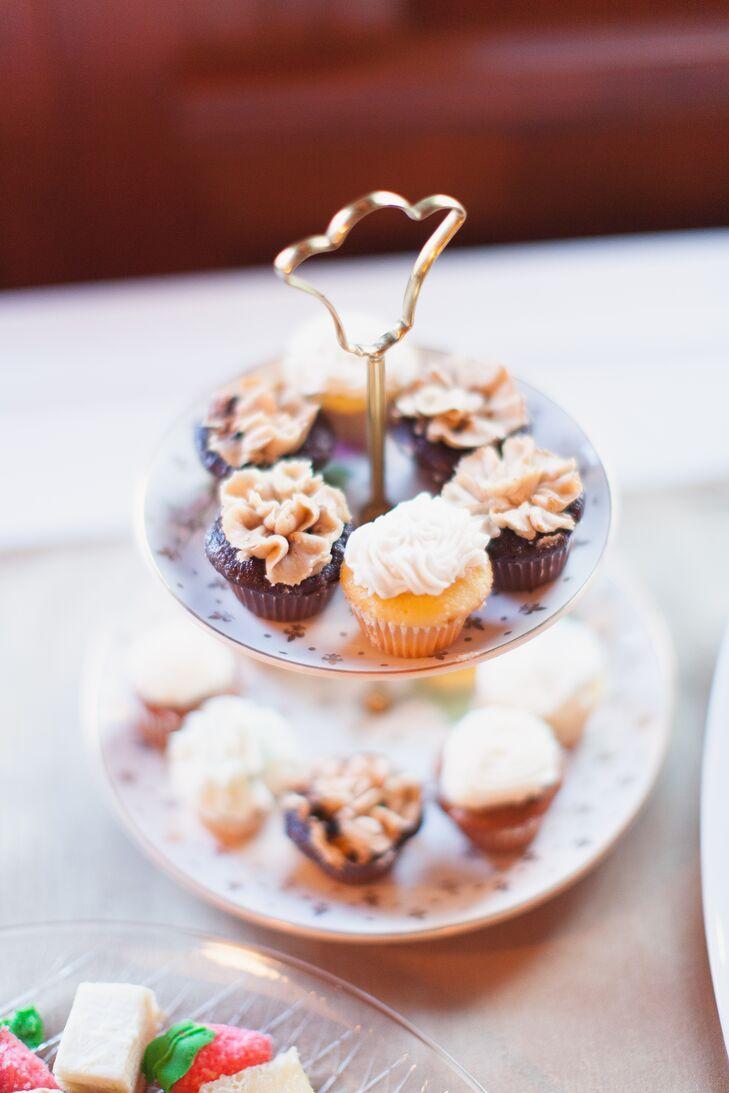 Vintage Cupcake Dessert Display
