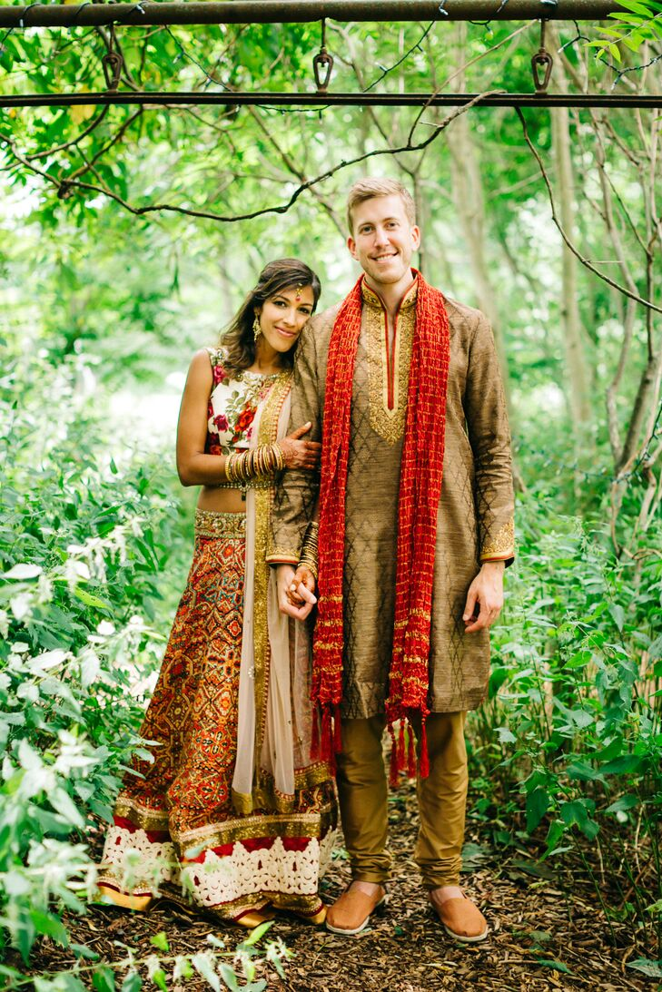 """""""I loved the idea of incorporating Indian traditions and the essence of such a vibrant culture in a rustic setting,"""" Paarul Chandra (32 and an emergen"""