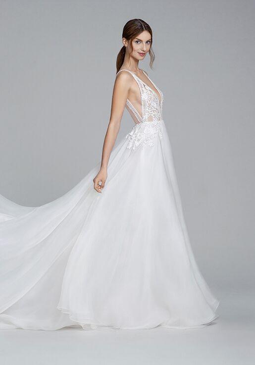 Lazaro Cristina 2856 Wedding Dress