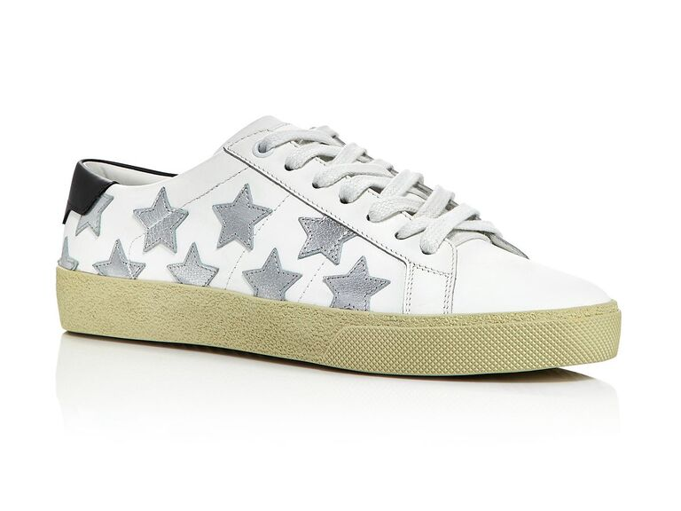 Star wedding sneakers