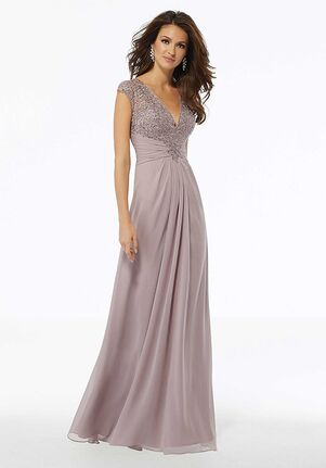 MGNY 72129 Blue,Purple Mother Of The Bride Dress