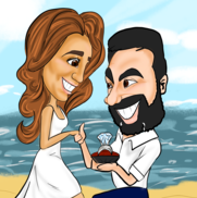 North Hollywood, CA Caricaturist | Bubble Head Caricatures