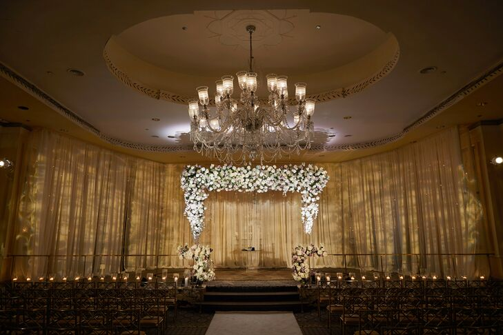 Glam Ballroom Ceremony Setup at The Pierre in New York City