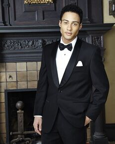 BLACKTIE RIO Black Wedding Tuxedo Black Tuxedo