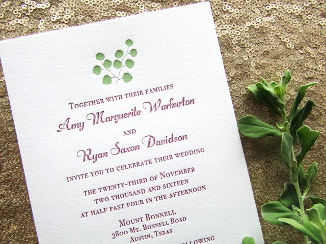Invitations Paper In Austin Tx The Knot