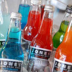 Soda Bottle Centerpieces