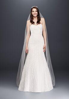 David's Bridal David's Bridal Style WG3842 Mermaid Wedding Dress