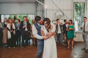 Rustic, Romantic Barn Reception