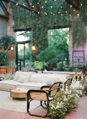 Lounge Area at Hotel Emma in San Antonio, Texas