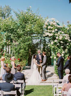Natural Garden Pavilion Ceremony