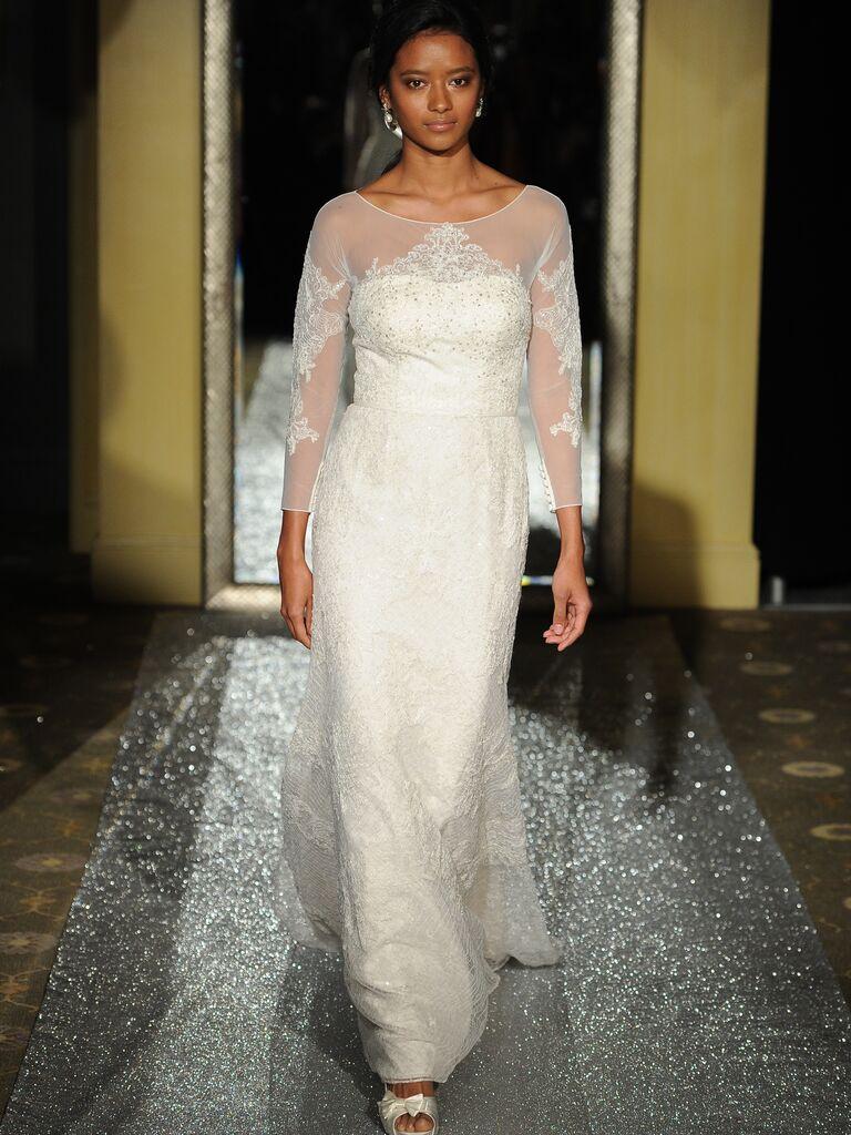 Oleg Cassini Spring 2016 Bridal Fashion Week Photos