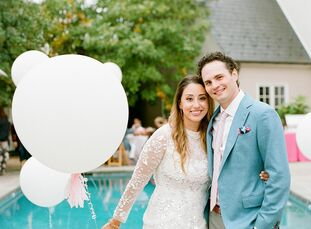 Jessi and Adam initially planned to have a 300 person country club wedding over Memorial Day weekend but had to pivot and reimagine their nuptials onc