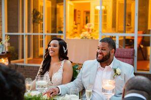 Couple Shares Laugh at Minimony in Columbia, South Carolina
