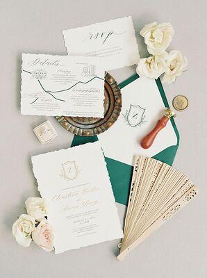 Romantic Invitation Suite  at The Swan House in Atlanta, Georgia