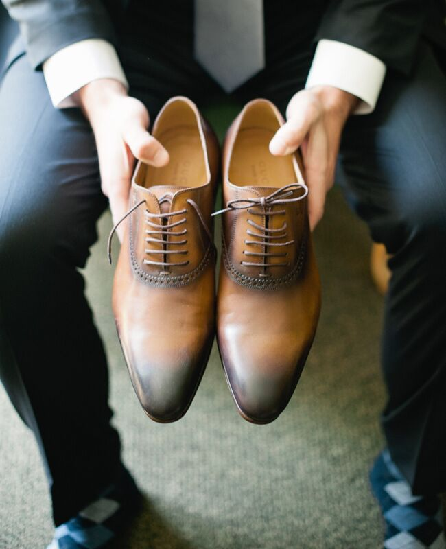 9 Ridiculously Stylish Groom's Shoes