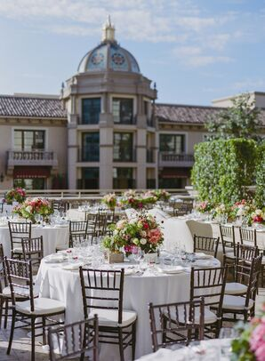Outdoor Terrace Reception