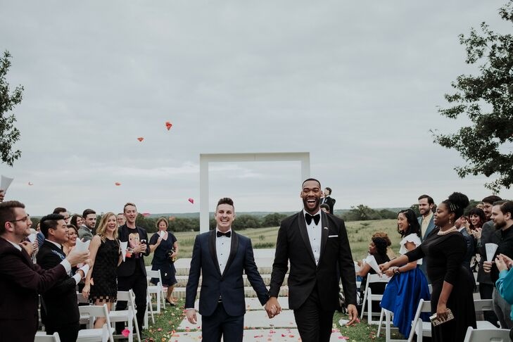 Recessional with Flower Petal Toss