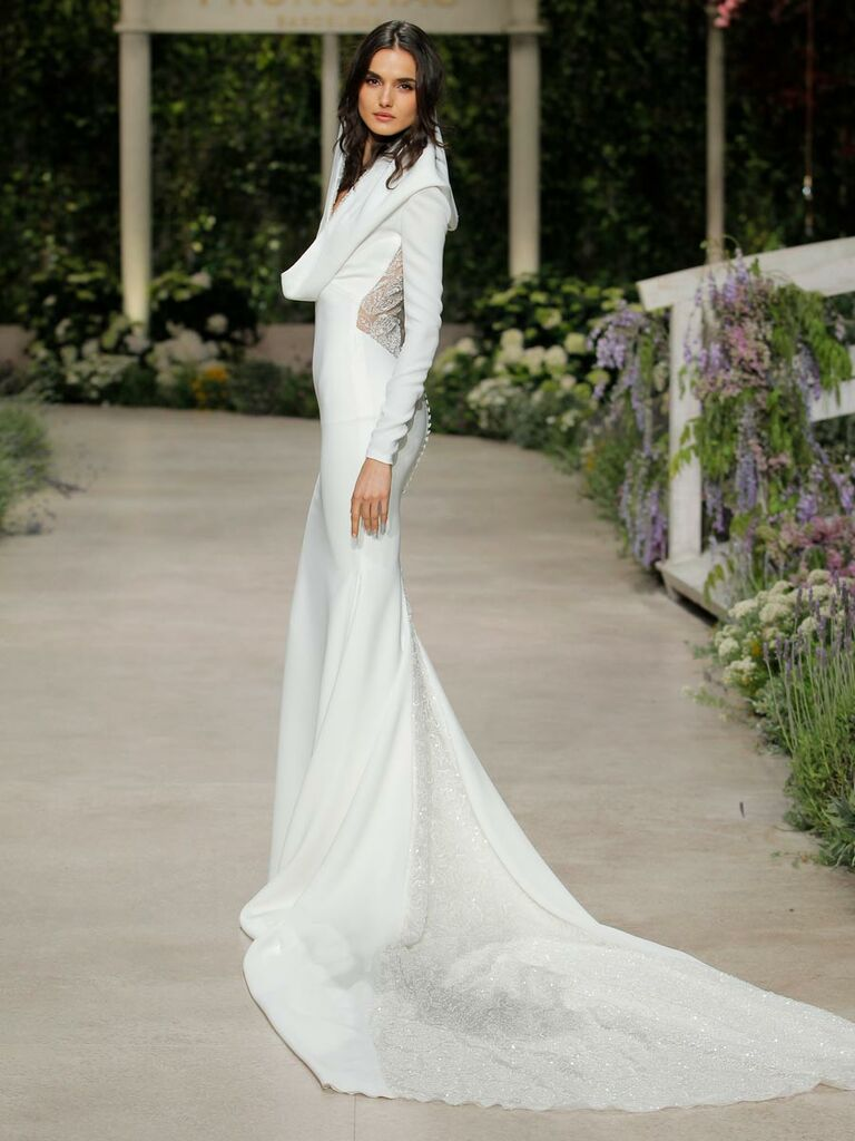 Pronovias Long Dresses for Summer Weddings