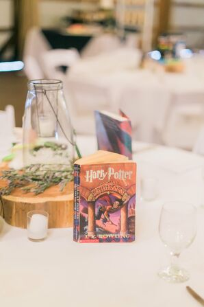Harry Potter Book Table Name