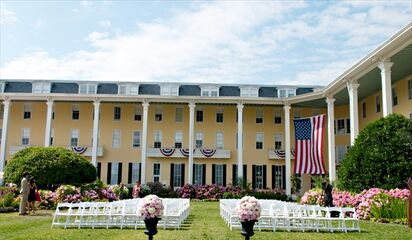 Cape May Congress Hall Weddings Front Photo