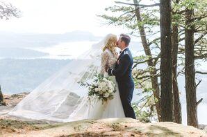 Elegant Woodlands-Inspired Wedding