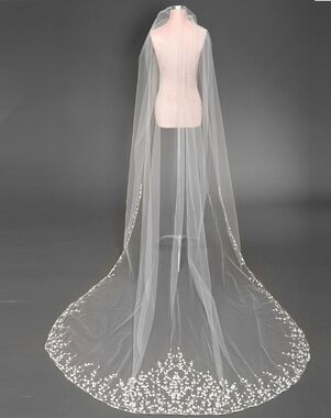 To Have & To Borrow Emery Ivory, White Veil