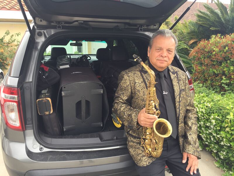 Have sax, will travel.
