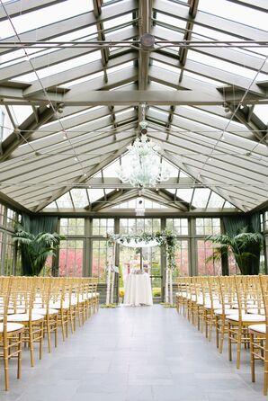 Royal Park Hotel Conservatory Ceremony