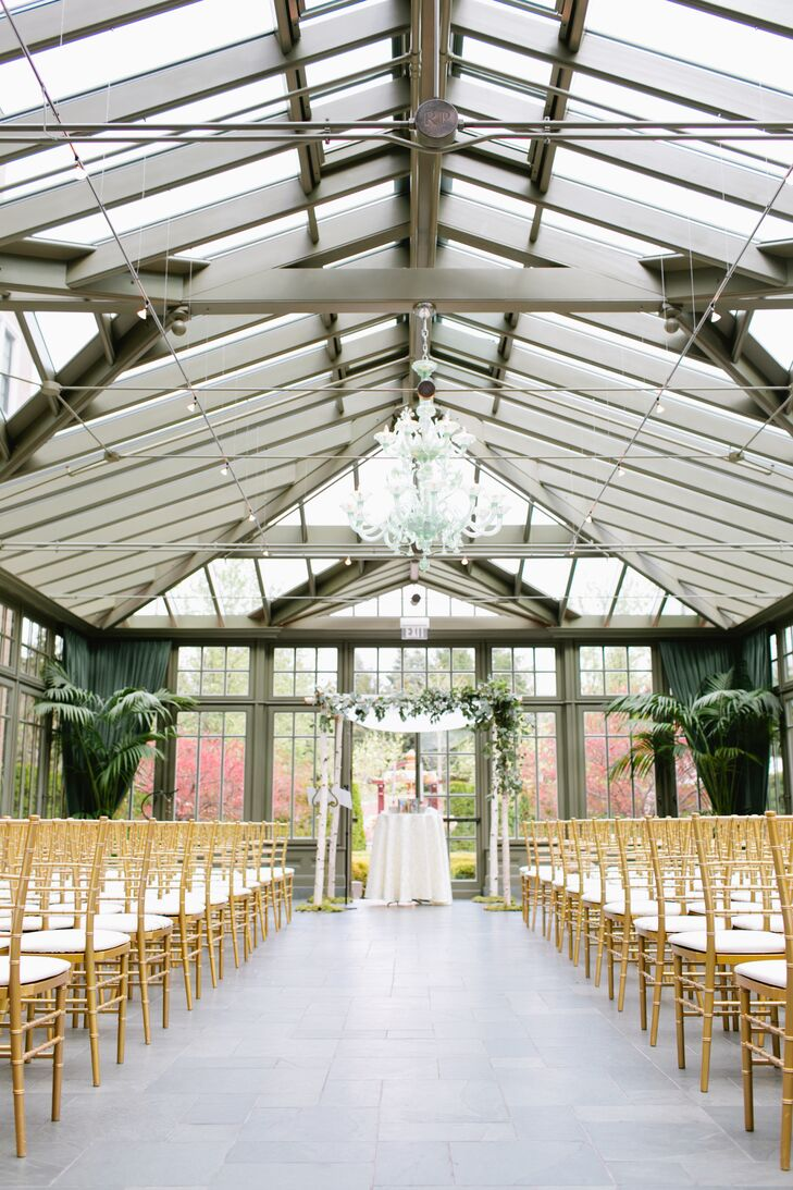 Royal Park Hotel Conservatory Ceremony