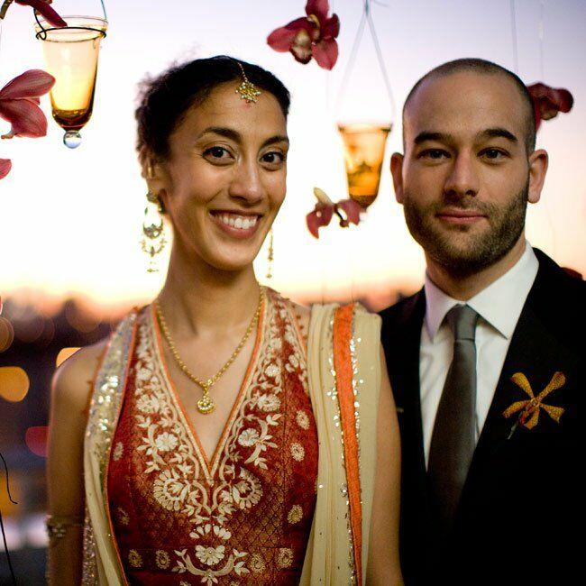 Real Weddings Study: Geeta & Matthew: A Cultural Wedding In Brooklyn, NY