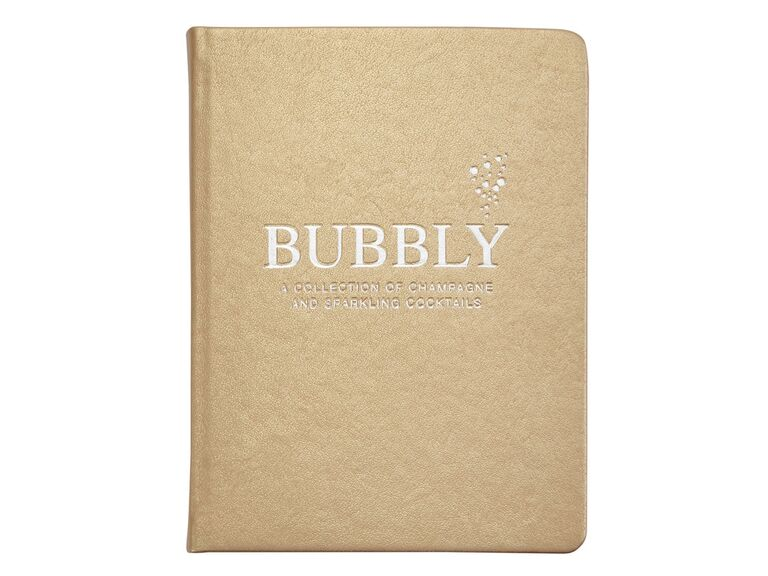 Champagne cocktail book bachelorette party gift