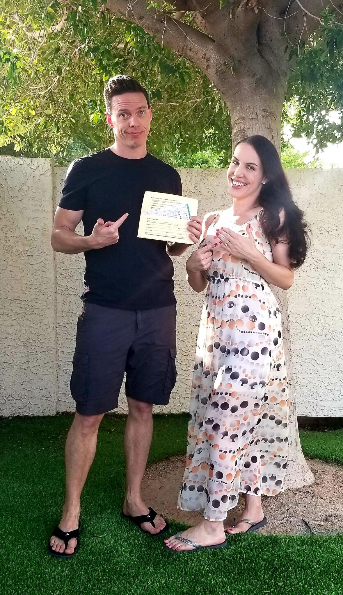 Image 1 of Amanda Sue and Chad Walter