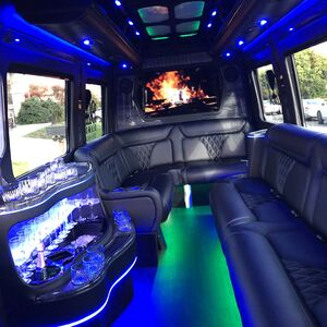 Napa, CA Party Bus | Black Diamond Limo Party Bus
