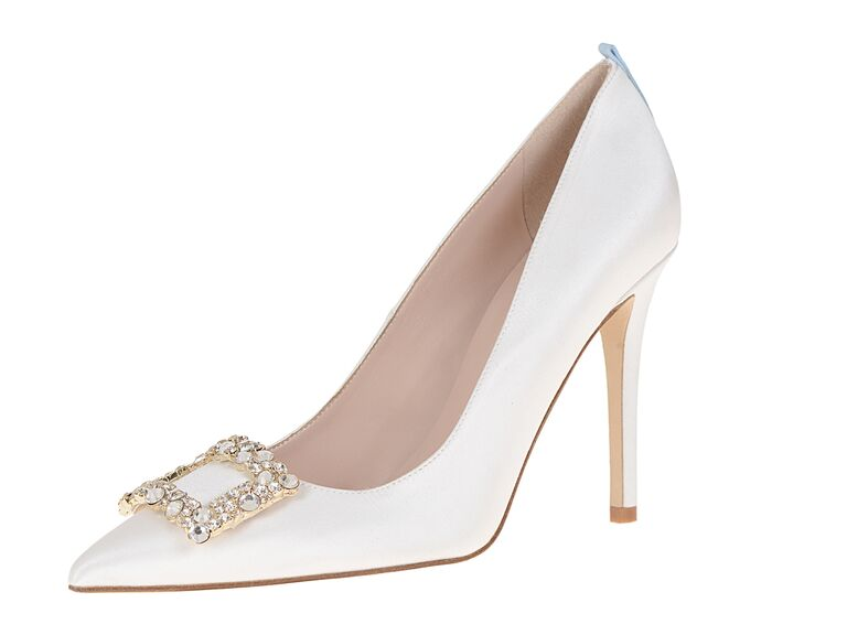 Sjp Collection Kleinfeld Exclusive Mary Shoe In Ss