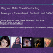 "Pittsburgh, PA Singing Pianist | ""Sing and Relax INTL Entertainment Services"