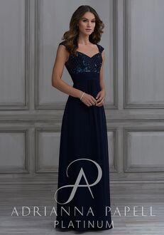 Adrianna Papell Platinum 40131 Sweetheart Bridesmaid Dress