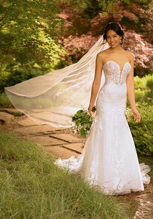 Essense of Australia D2888 Mermaid Wedding Dress