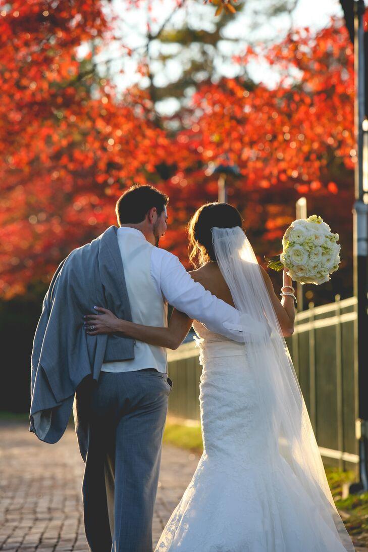 Lauren and Josh's Fall Wedding in Eureka, Missouri