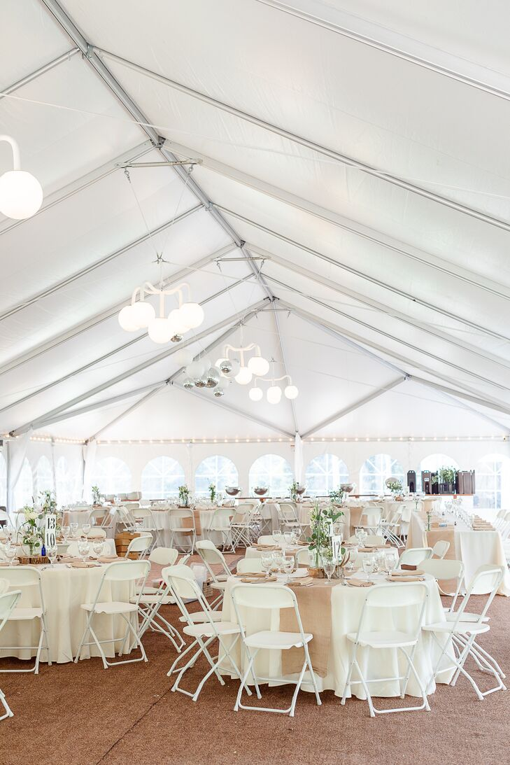 Rustic-Modern Tented Reception