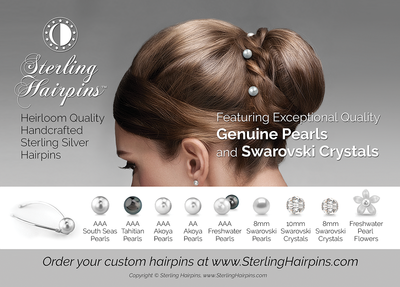 Sterling Hairpins