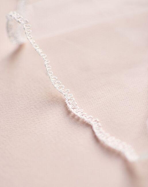 Dareth Colburn Simple Lace Edge Veil (VB-5091) Ivory Veil
