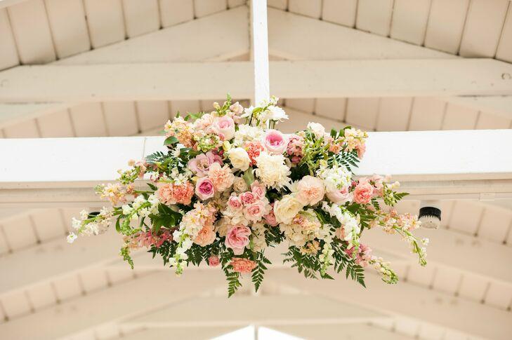 Lush Pastel Rose Hanging Decor